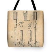 1935 Phillips Screw Driver Antique Paper Patent Print Tote Bag