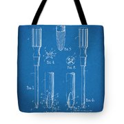 1935 Phillips Screw Driver Blueprint Patent Print Tote Bag