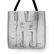 1935 Phillips Screw Driver Gray Patent Print Tote Bag