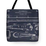 1935 Union Pacific M-10000 Railroad Blackboard Patent Print Tote Bag