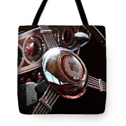 1937 Vintage Model 1508 Steering Wheel Tote Bag