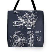 1938 Bell And Howell Movie Camera Patent Print Blackboard Tote Bag