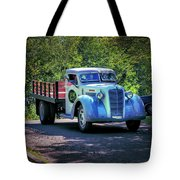 1938 Diamond T Stakebed Truck Tote Bag