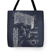 1947 Hockey Goal Patent Print Blackboard Tote Bag