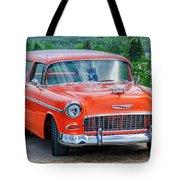 1955 Chevrolet Bel Air Nomad Tote Bag