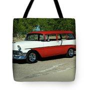 1956 Chevrolet Handyman Station Wagon  Tote Bag