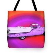 1957 Oldsmobile 98 Starfire Tote Bag