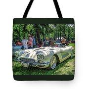 1961 Chevrolet Corvette 002 Tote Bag