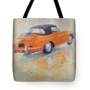 1965 Porsche 356 C Tote Bag