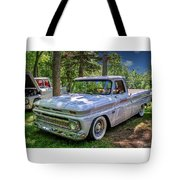 1966 Chevrolet C10 Pickup Truck Tote Bag