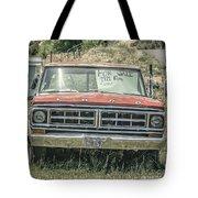 1971 Ford Pickup Truck For Sale In Utah Tote Bag