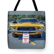 1973 Dodge Challenger Tote Bag