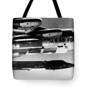 1x15 Rocket Plane Launched From The B52 Carrying It, 1962 Tote Bag