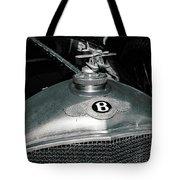 1928 Bentley 4 1/2 Litre Parkward Saloon Tote Bag