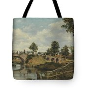 An Old Bridge At Hendon  Middlesex  Tote Bag