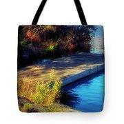 Autumn Colors In Kearney Lake Tote Bag