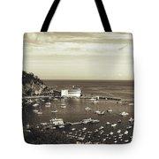 Avalon Harbor - Catalina Island, California Tote Bag