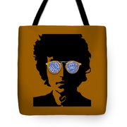Bob Dylan Blowin In The Wind Tote Bag