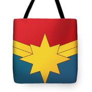 Captain Marvel 2019  Tote Bag