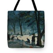Central Park, Winter Tote Bag