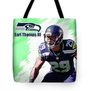Earl Thomas,seattle Seahawks. Tote Bag