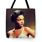 Eartha Kitt, Hollywood Legend Tote Bag
