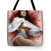 Friday Morning Tote Bag by Pete Tapang
