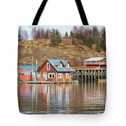 Halibut Cove Kenai Peninsula Alaska Tote Bag