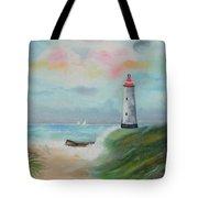 Hickering Harbor Tote Bag