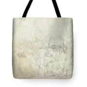 Leonidas At Thermopylae  Tote Bag