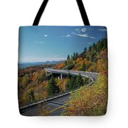 Linn Cove Viaduct - Blue Ridge Parkway Tote Bag