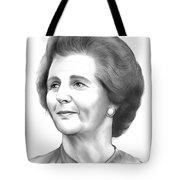 Margaret Thatcher Tote Bag