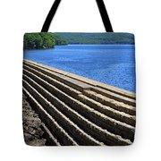 New Croton Dam At Croton On Hudson New York Tote Bag