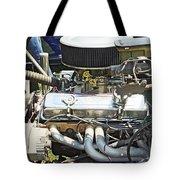 Old Car Engine Tote Bag