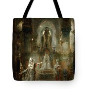 Salome Dancing Before Herod Tote Bag