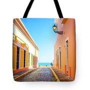Streets Of San Juan - Puerto Rico Tote Bag