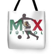 2018 Soccer Cup Mexico Flag Mex Championship Iso Tote Bag