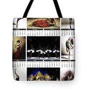 2019 High Resolution R Young Art Dance Calendar - Available Artw Tote Bag