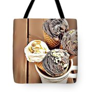 24 Eat Me Now  Tote Bag