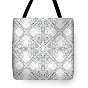 Background Of Geometric Shapes Tote Bag