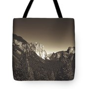 Beautiful Yosemite Valley Tote Bag