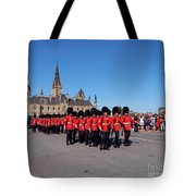 Changing Of The Guard In Ottawa Ontario Canada Tote Bag