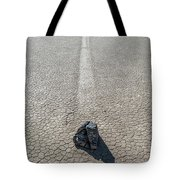 Elevated View Of Racetrack, Death Tote Bag