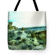 High Desert Landscape Tote Bag