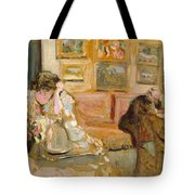 Jos And Lucie Hessel In The Small Salon  Rue De Rivoli  Tote Bag