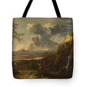Landscape With Tobias And The Angel  Tote Bag
