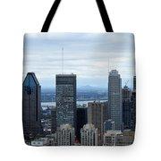 Montreal Skyline Tote Bag