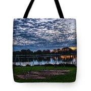 Obear Park Sunset Tote Bag