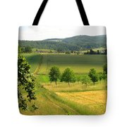 Photograph Of A Field In Germany Tote Bag