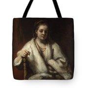 Portrait Of Hendrickje Stoffels  Tote Bag